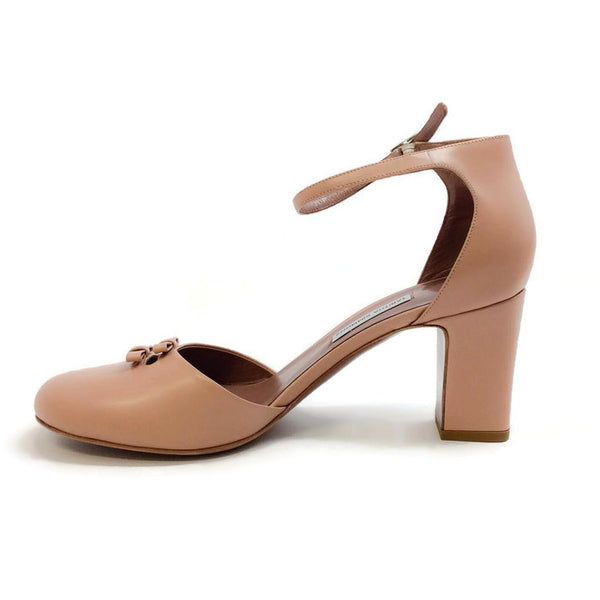 Bow Front D'orsay Pump Nude by Tabitha Simmons inside