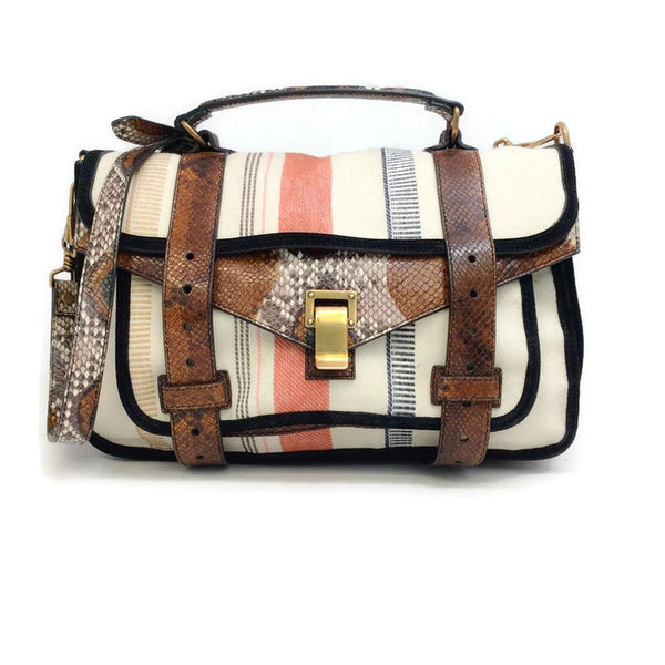 Ps1 Medium Tote Multi Cross Body Bag by Proenza Schouler