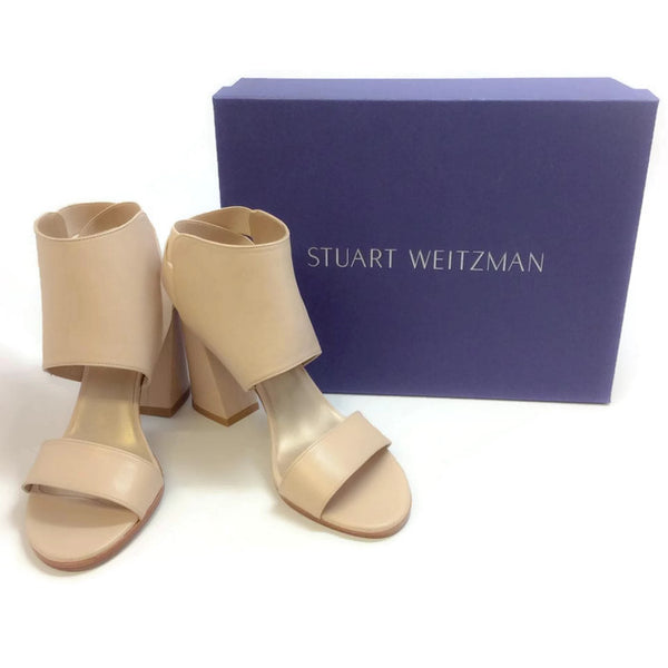 Inpower Pastry Nappa Sandals by Stuart Weitzman with box