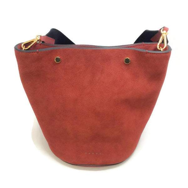 Bucket Tote Port Red by Marni
