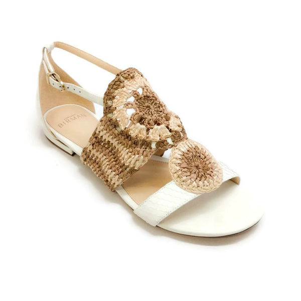 Jin Tropic White Sandals by Alexandre Birman