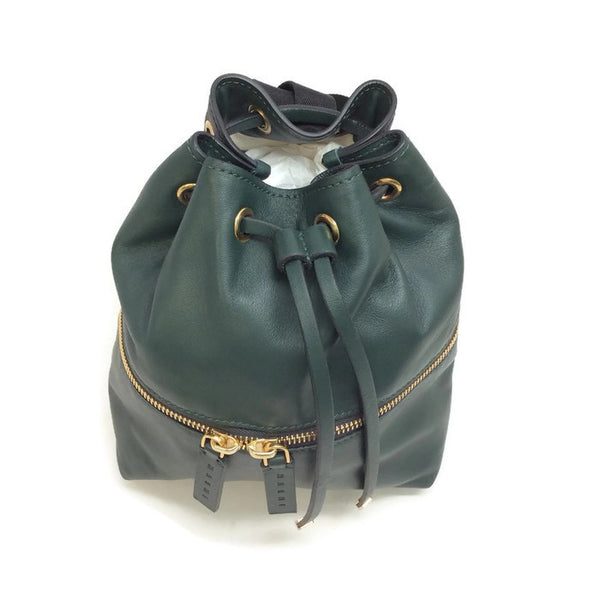 Mini Leather Bucket Backpack by Marni top