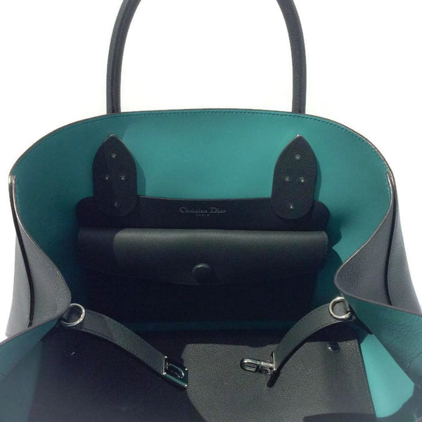 Green Tote Bag With Strap by Christian Dior interior alternate