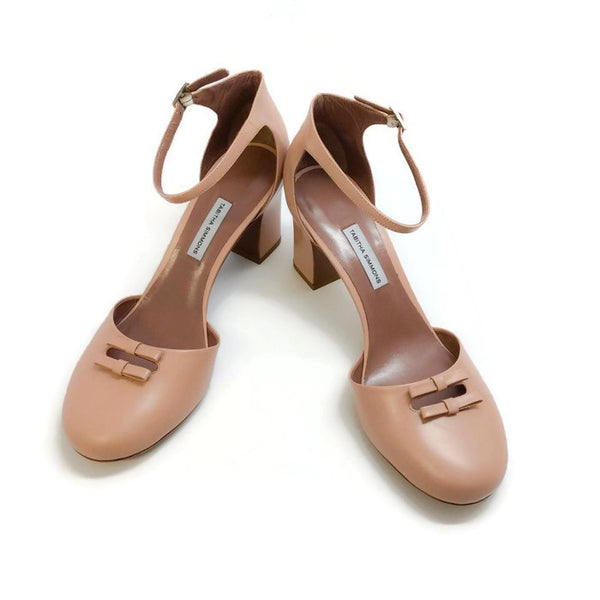 Bow Front D'orsay Pump Nude by Tabitha Simmons pair