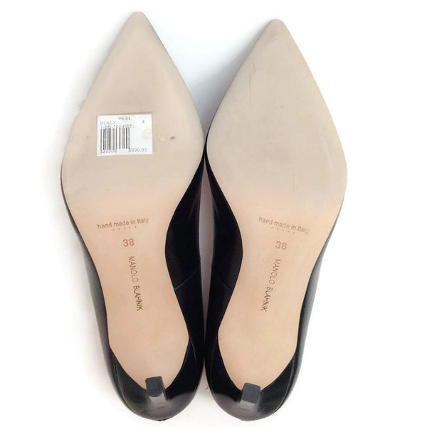BB 105 Black Pumps by Manolo Blahnik 38