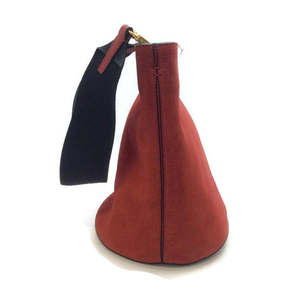 Bucket Tote Port Red by Marni side