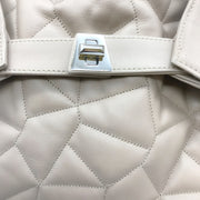 Akris Quilted Tan Leather Shoulder Bag