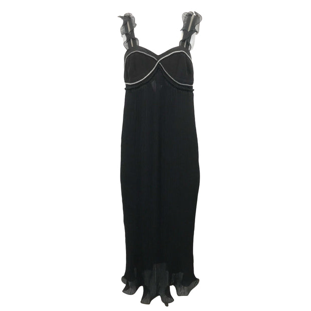3.1 Phillip Lim Black Pleated Dress