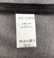 Dice Kayek blue denim cape