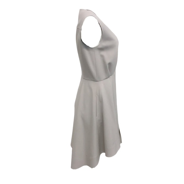ADEAM Grey Wool Short Casual Dress