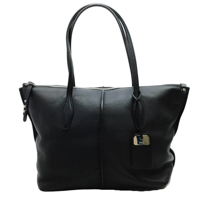 Tod's Black Leather Joy Tote
