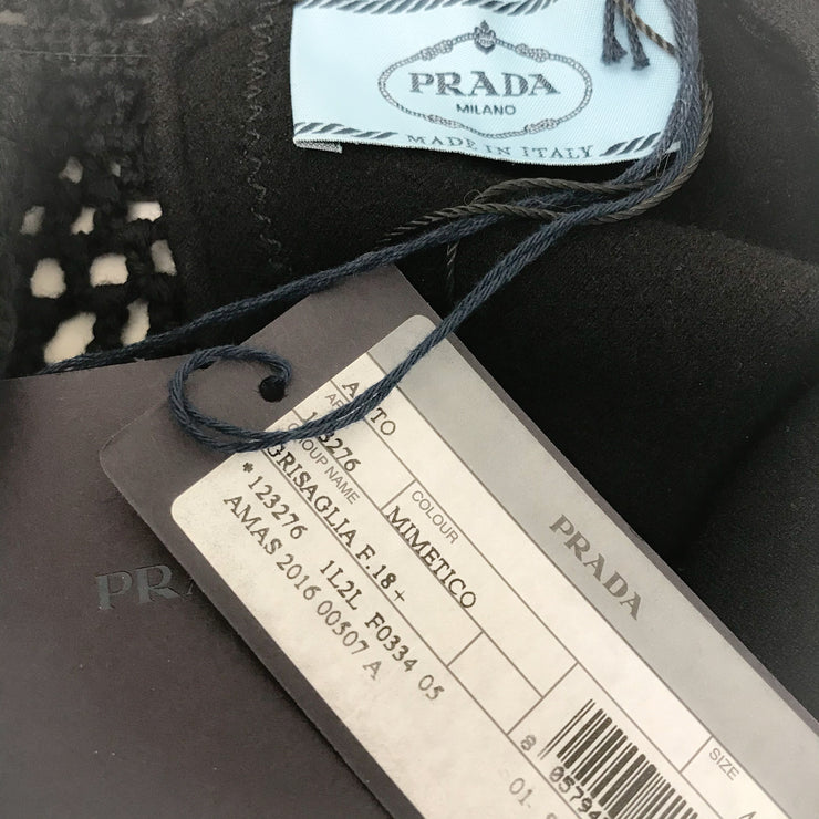 Prada Dark Green Wool Dress