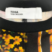 Toga Black Multi Batwing Tee Shirt
