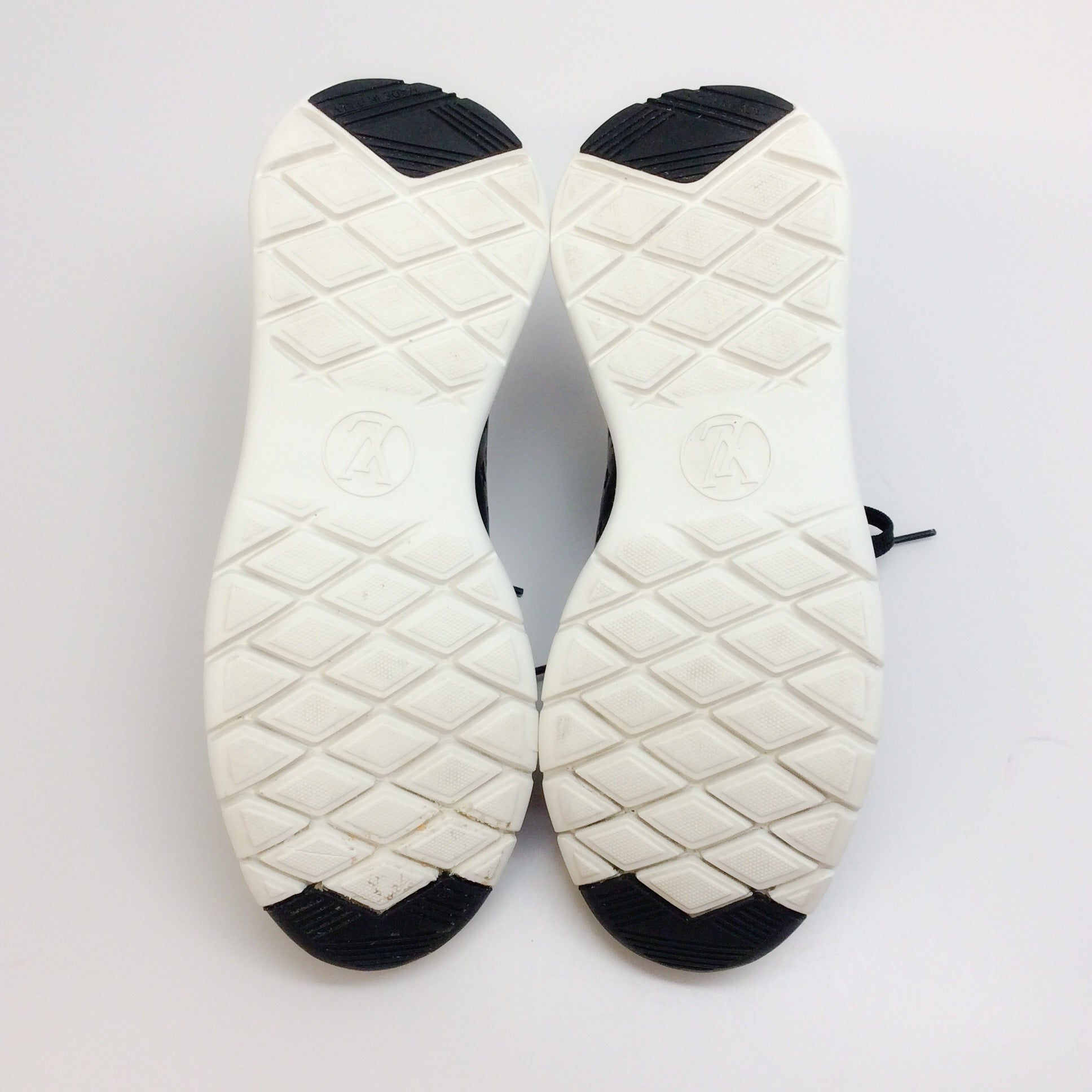 Louis Vuitton Black / White Run Away Sneakers