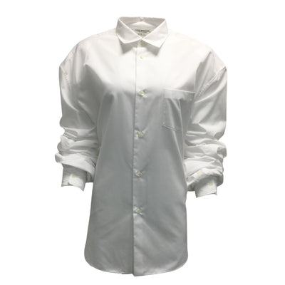 Junya Watanabe White Cotton Blend Button Down Shirt