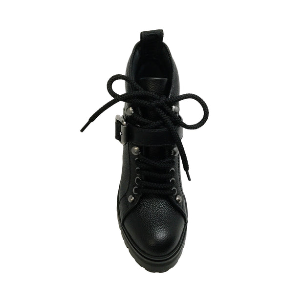Miu Miu Black Leather Roya Boots