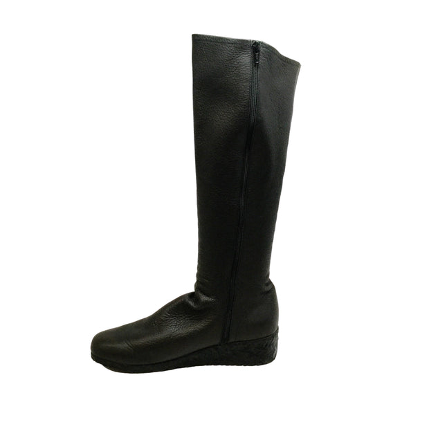 Arche Brown Tall Wedge Boots