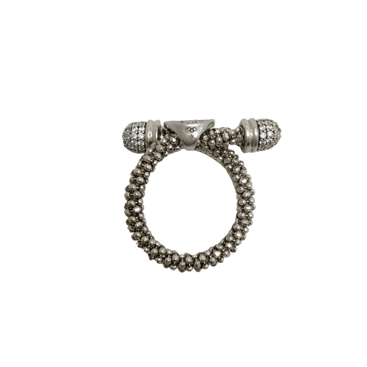 Links of London Sterling Silver Pave Ring
