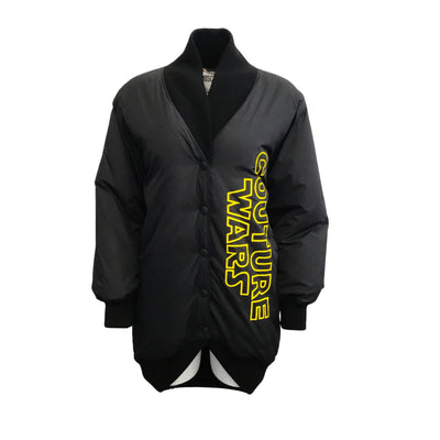 Moschino 'Couture Wars' Black Nylon Puffer Jacket