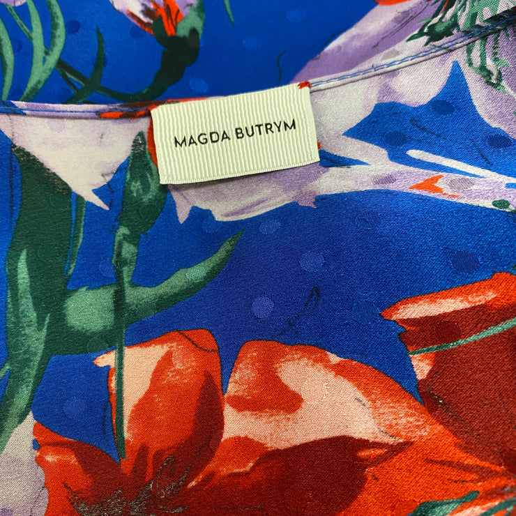 Magda Butrym Floral Silk Lagos Dress
