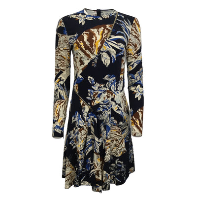 Stella McCartney Ink Colour By Numbers Cat Cady Dress