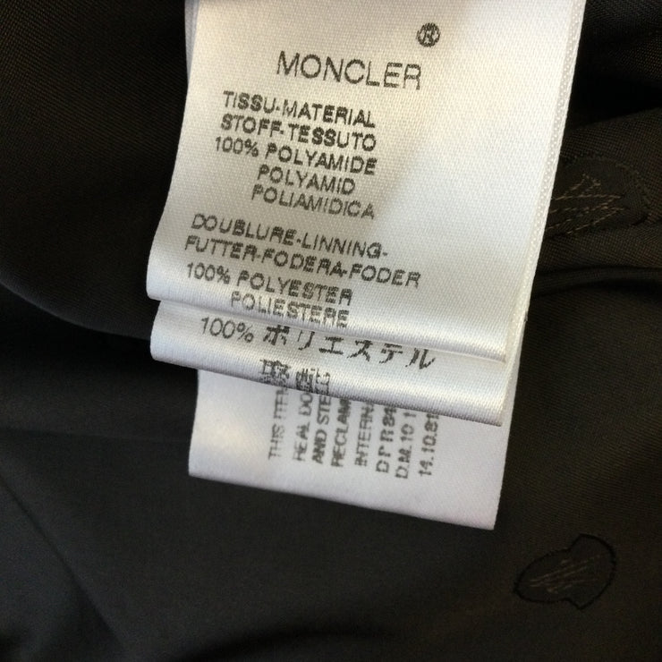Moncler Brown Puffer Down Jacket