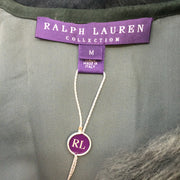 Ralph Lauren Purple Label Teal Shearling Vest