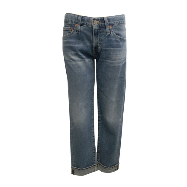 AG Adriano Goldschmied 18 Year The Slim Boyfriend Cut Jeans