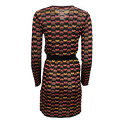 Missoni Tie Waist Cardigan Black / Pink Sweater