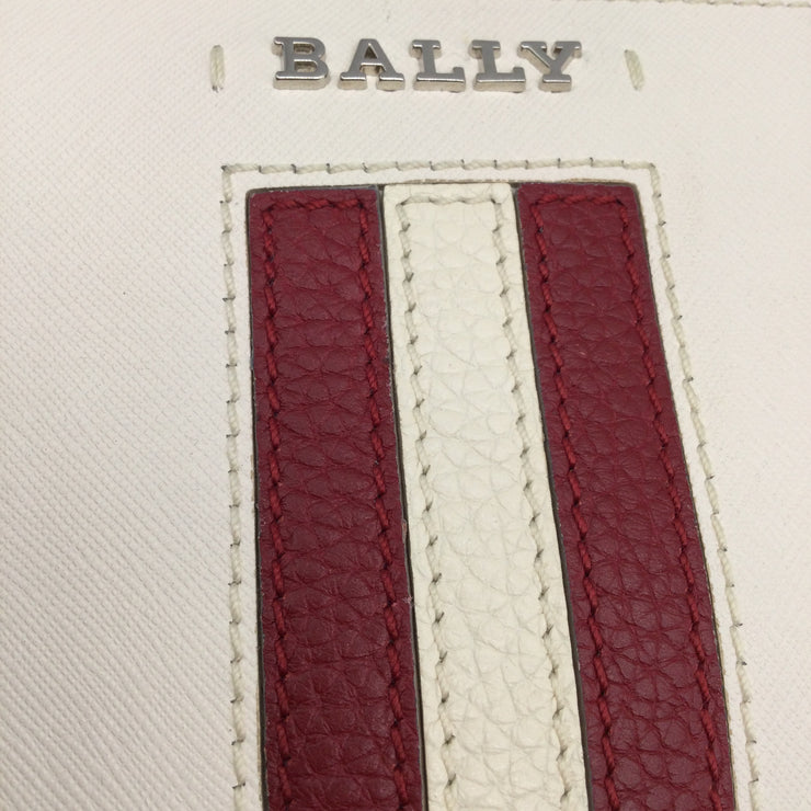 Bally Supra Ivory Leather Tote