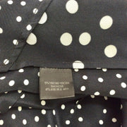 Barbara Bui Navy / White Sleeveless Polka Dot Blouse