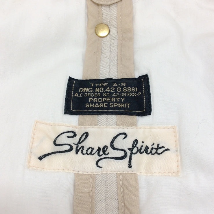 Share Spirit Cream Gathered Jacket With Pockets