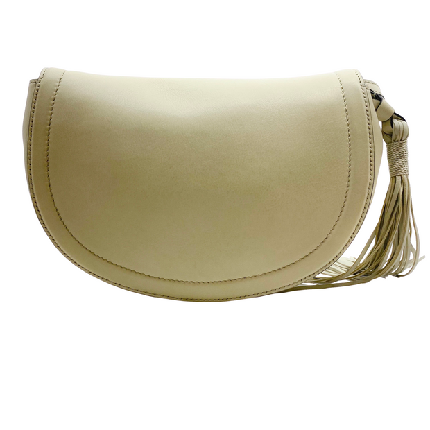 Altuzarra Ghianda Dove Grey Leather Cross Body Bag