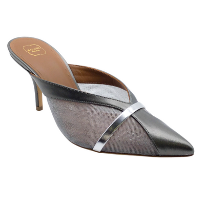 Malone Souliers Anthracite Bobbi Mules
