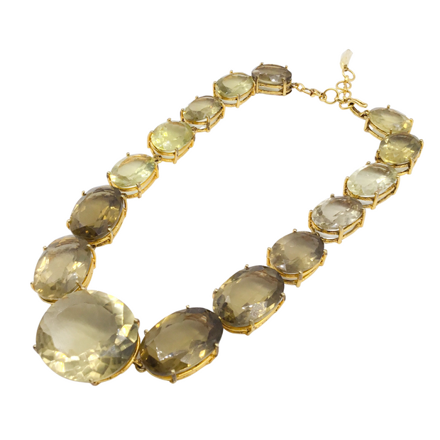 Bounkit Lemon Quartz Necklace