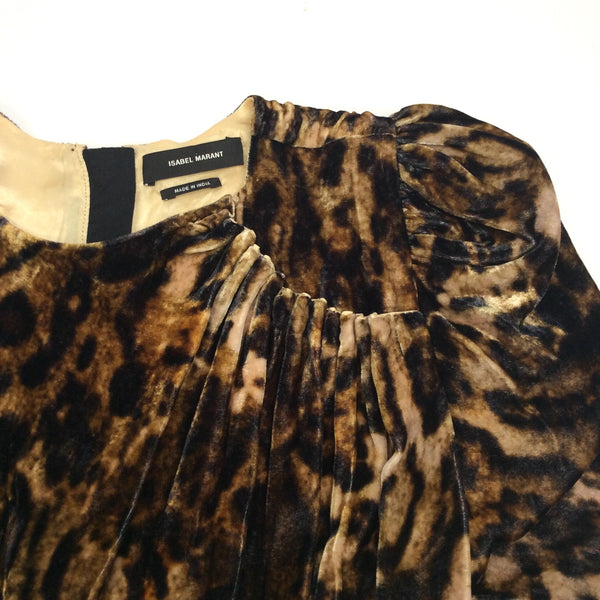 Isabel Marant Leopard Ulia Dress