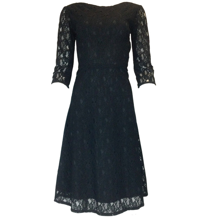 Kalinka Black Lace Dress