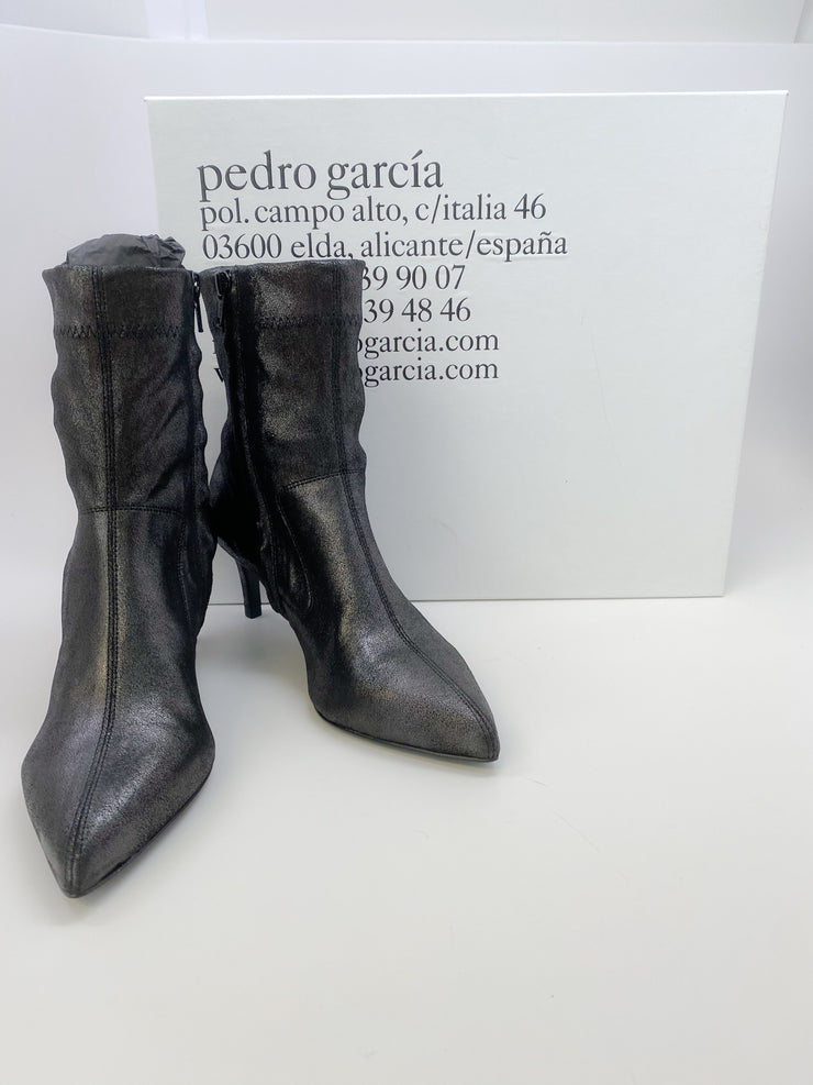 Pedro Garcia Anthracite Powder Ernesta Boots/Booties