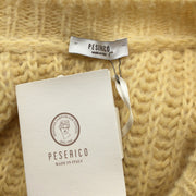 Peserico Yellow Alpaca Sweater