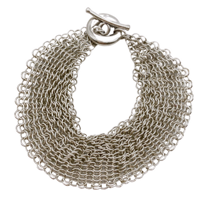 Tiffany & Co. Silver Chainmail Bracelet