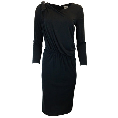 Armani Collezioni Black Long Sleeved Dress
