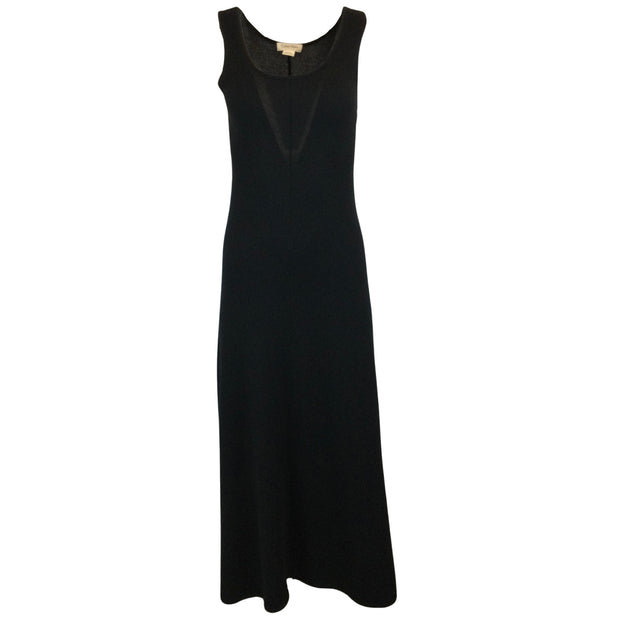 Calvin Klein Collection Black Sleeveless Cashmere Maxi Dress
