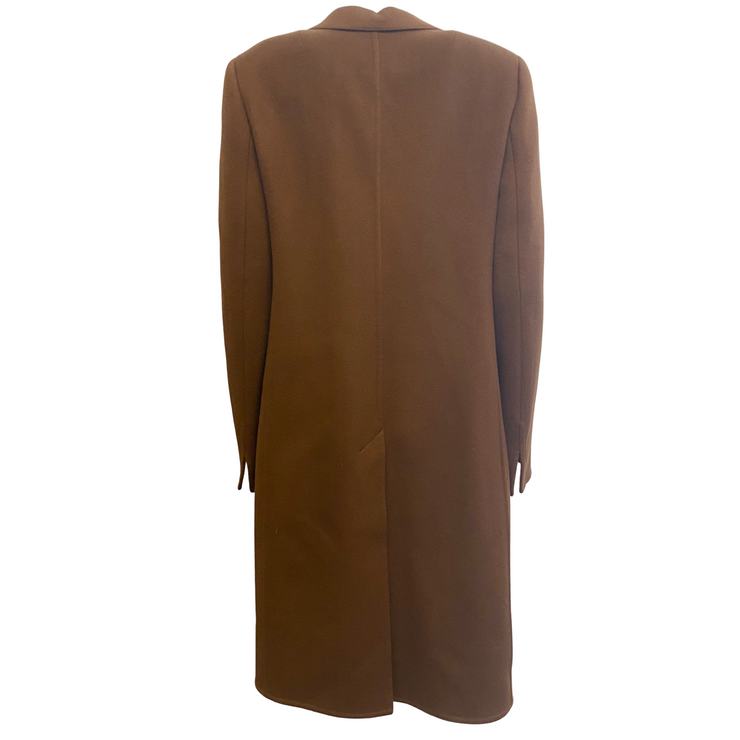 Akris Brown Cashmere Classic Coat
