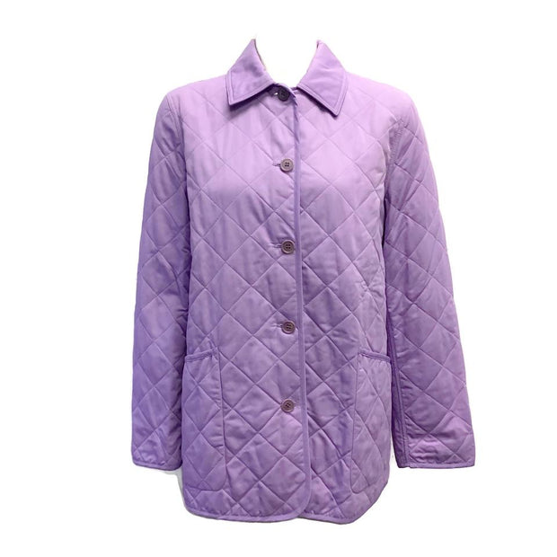 Agnona Lilac Quilted Jacket
