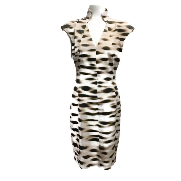 Akris Brown/Tan Animal Dress