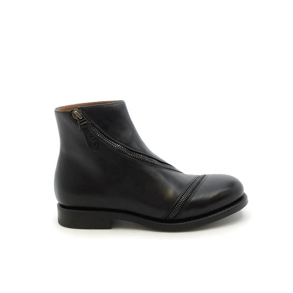 ALAÏA Black Leather Boots