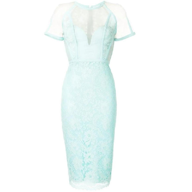 Alex Perry Aqua Aldrich Dress
