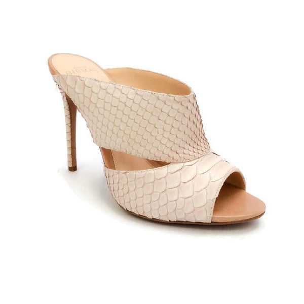 Python Nude Sandals by Alexandre Birman