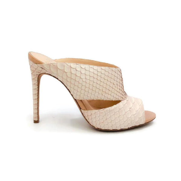 Python Nude Sandals by Alexandre Birman outside