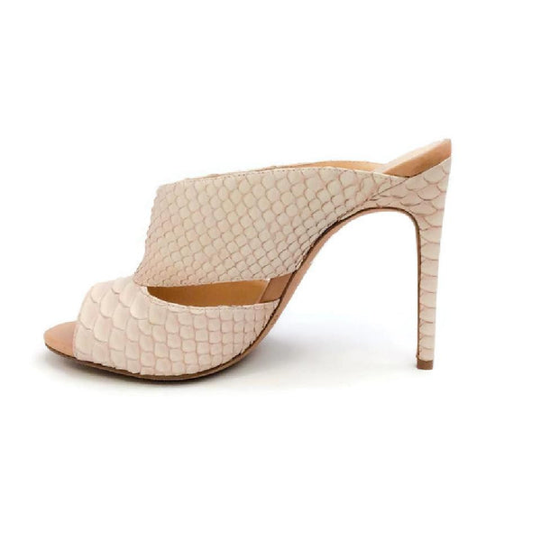 Python Nude Sandals by Alexandre Birman inside